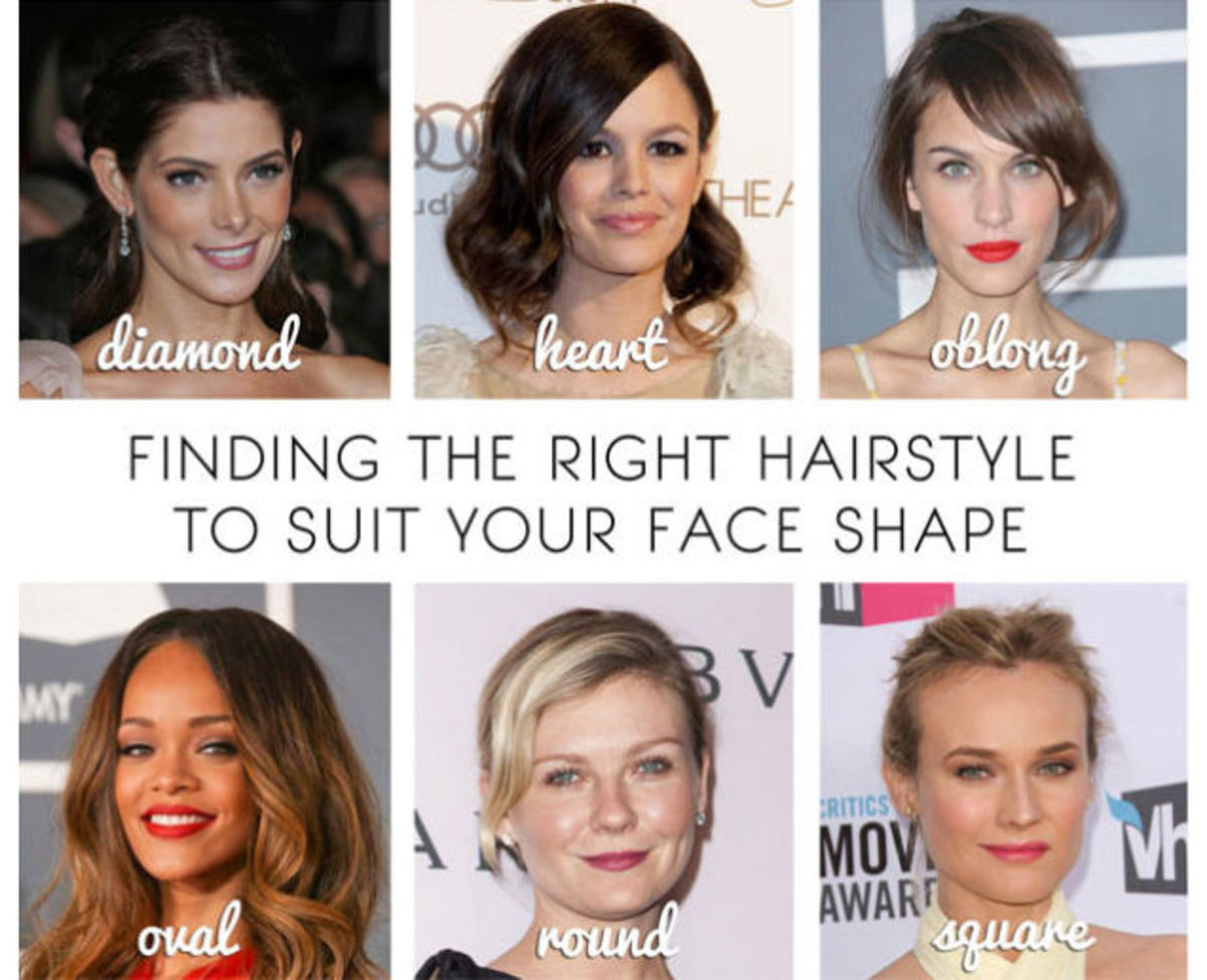 Finding The Right Hairstyle To Suit Your Face Shape