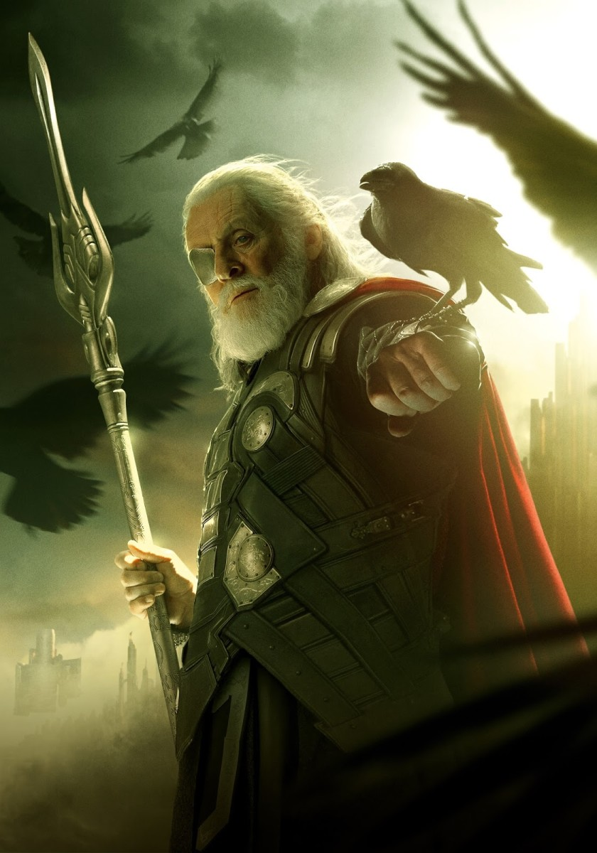 Odin is the patriarch of Asgard.