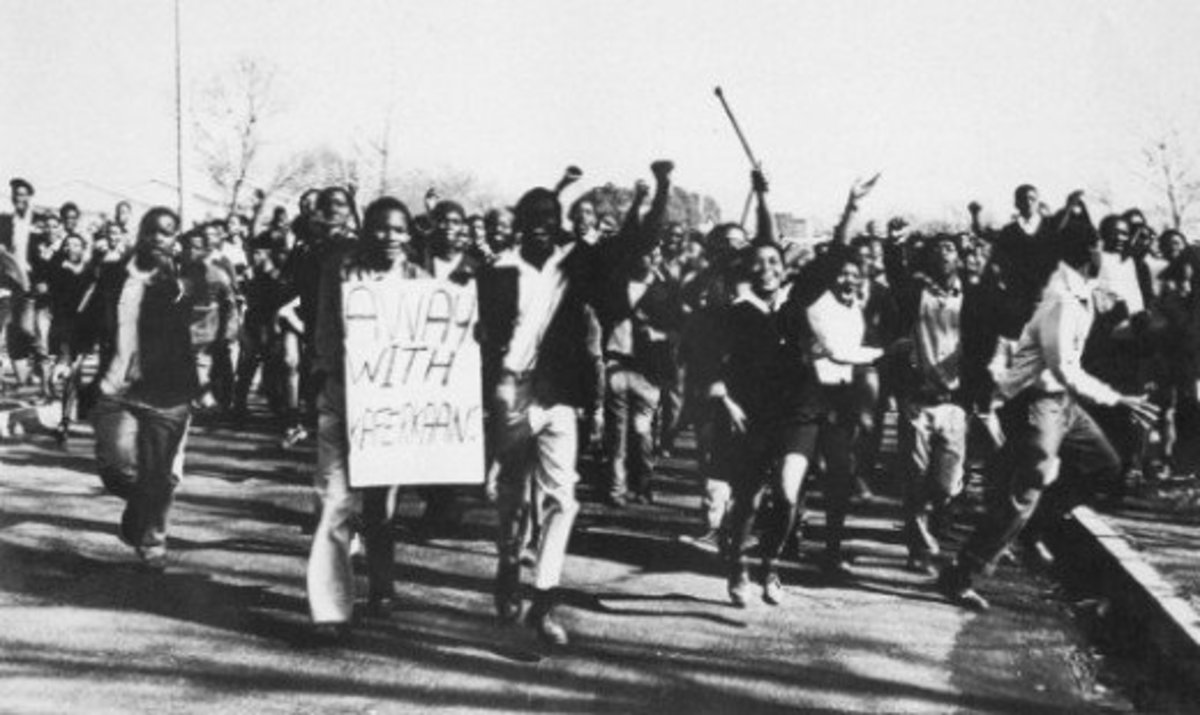 It was a Revolution By The Soweto Students, for the Students' Education and the Liberation Of Africans Under the Nazi Heel Of Apartheid