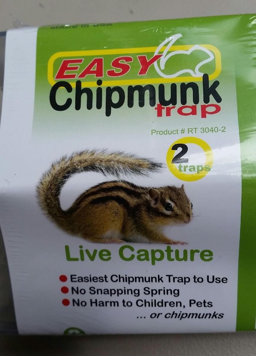 New Humane Chipmunk Trap Hubpages