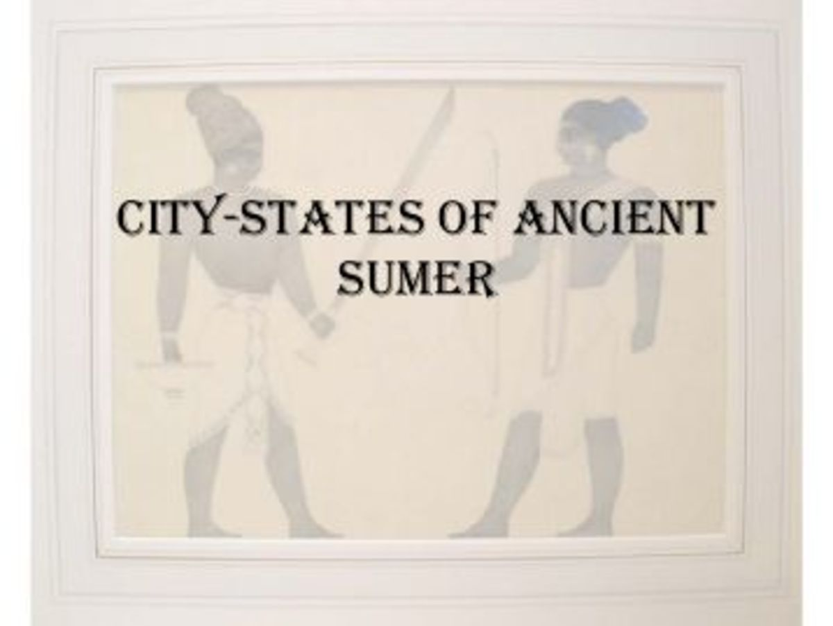 Comparisons between the Greek and Sumerian City-States