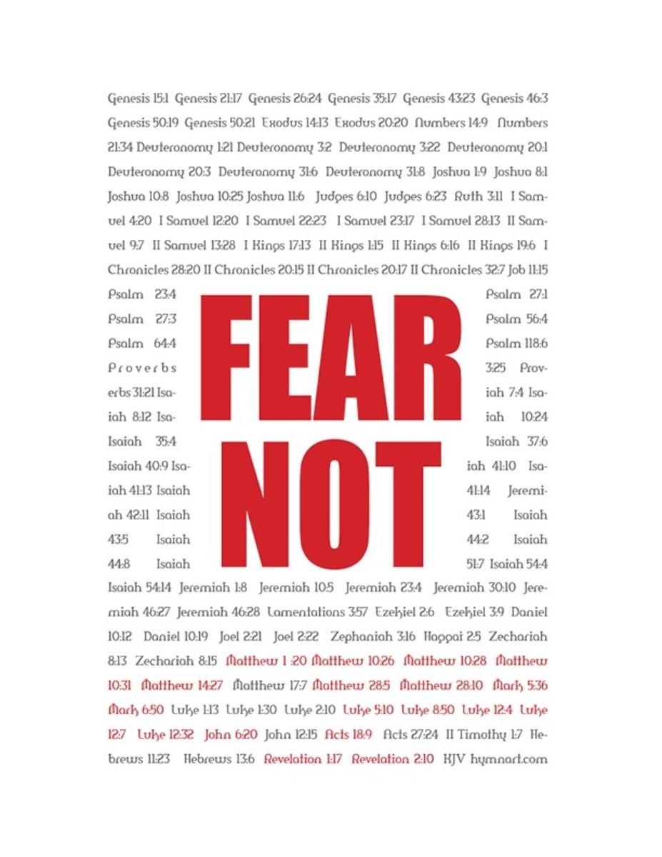 Fear Not!!