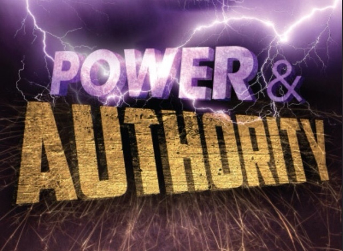 Authority in His Name and Power in His Blood!