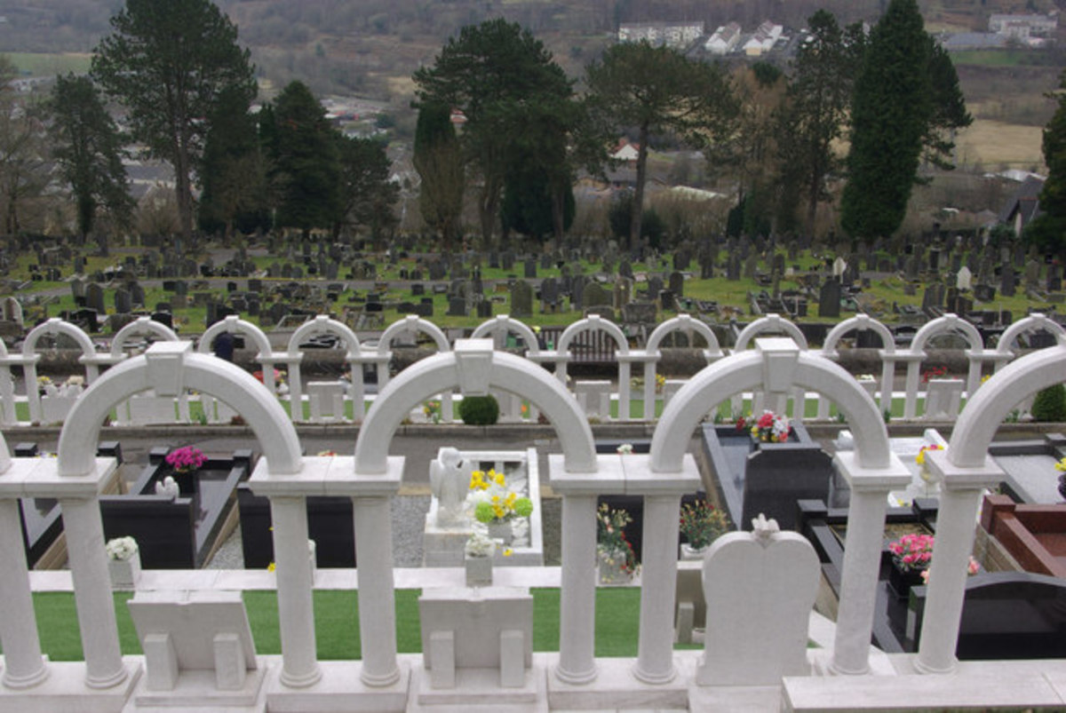 Aberfan disaster children's cemetery