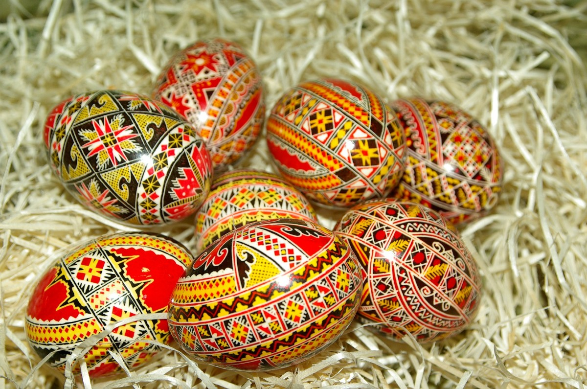 Whether in Romania, Hungary, Czech Republic, Poland, or Ukraine ( and many others!)  you can find highly decorated eggs during the Easter season. For some it is an integral part of their customs.