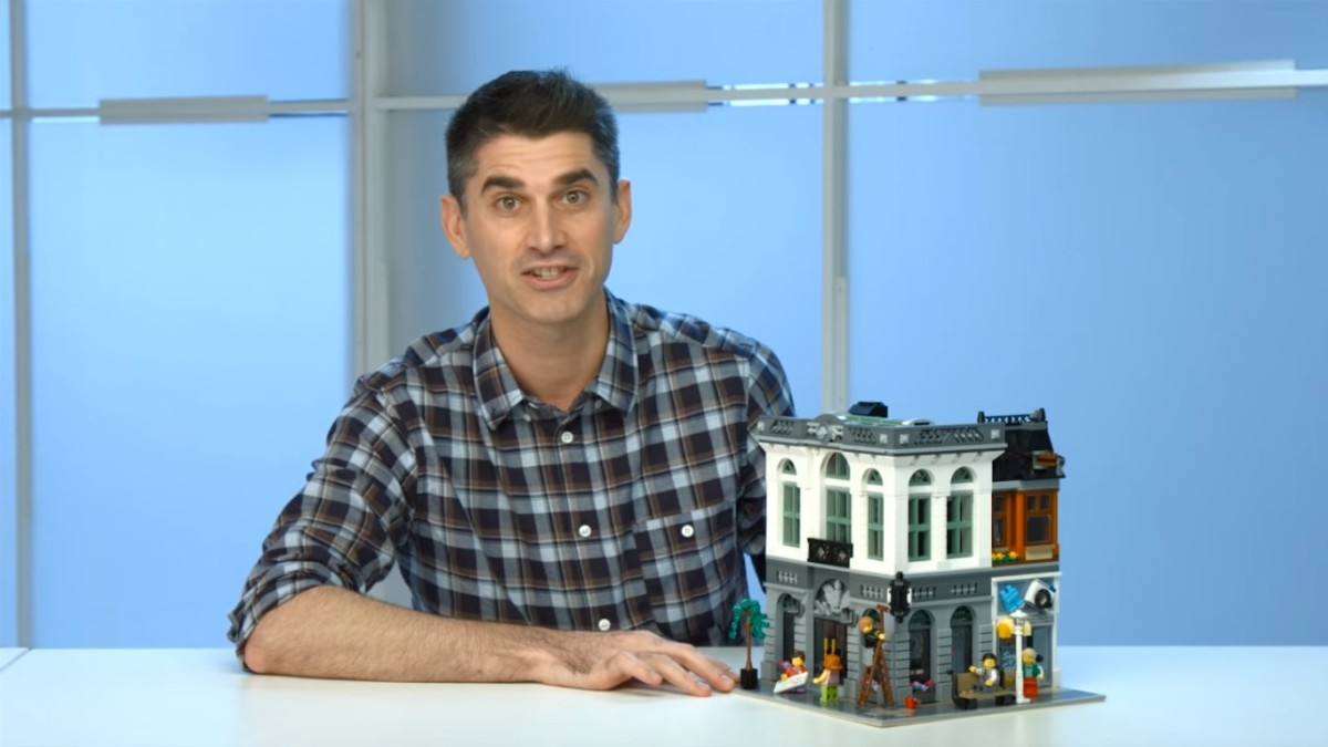 LEGO Creator Brick Bank Modular Building