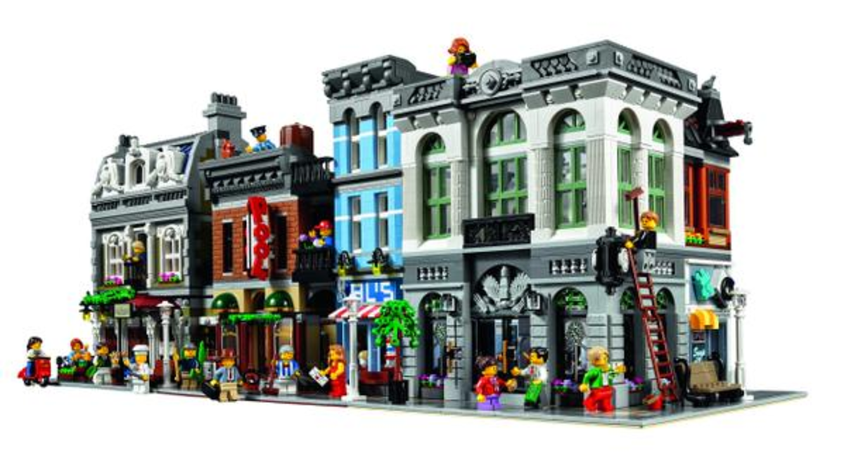 LEGO Creator Brick Bank Modular Building | Build an entire town with the LEGO Modular buildings collection!