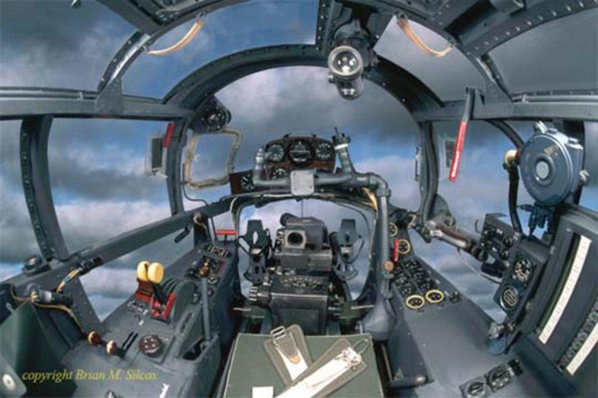 Aradoro cockpit