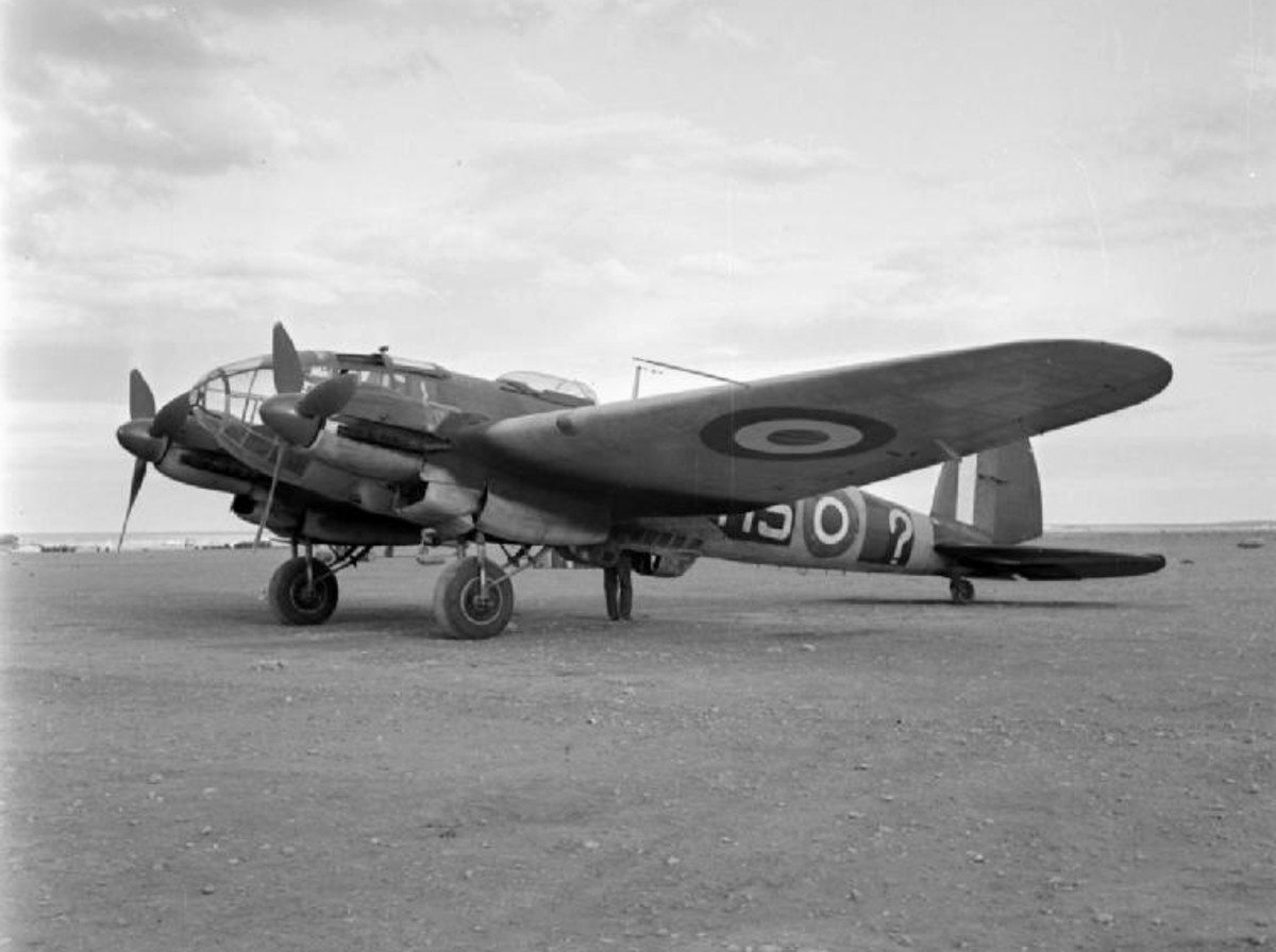 He111 in RAF colours