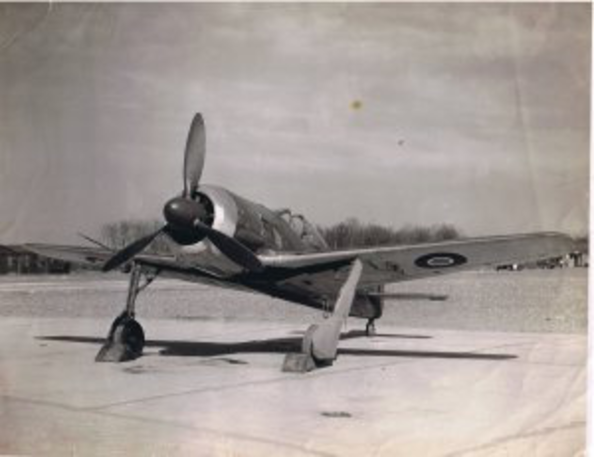 Fw 190 in RAF colours