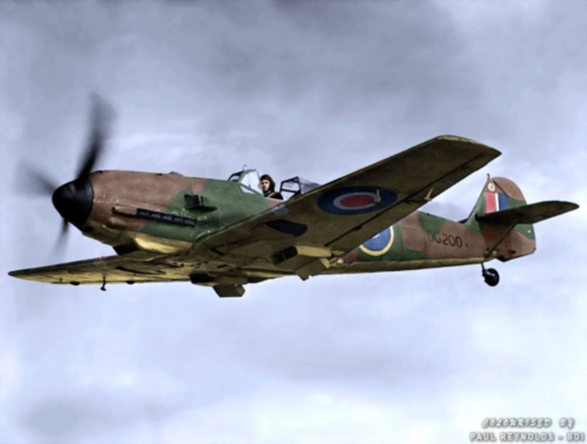 Me 109E-4B in RAF colours