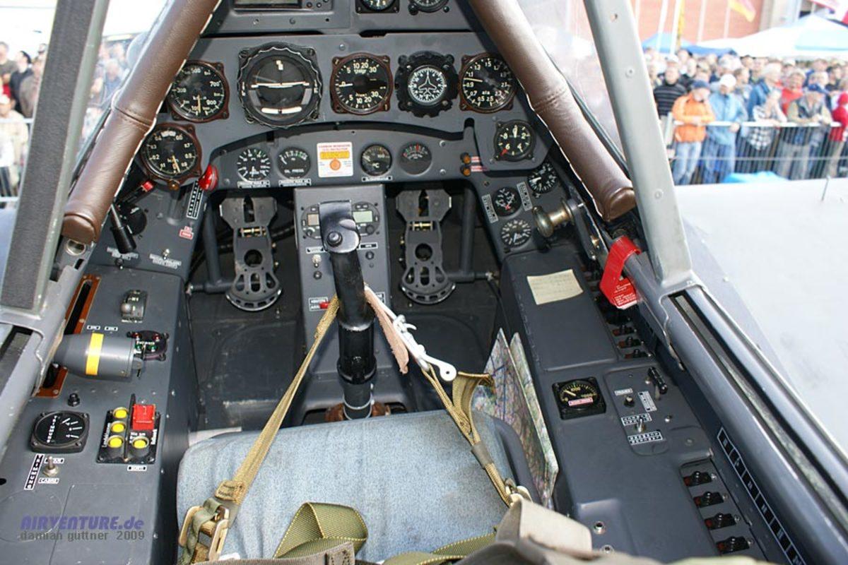 Fw190 cockpit