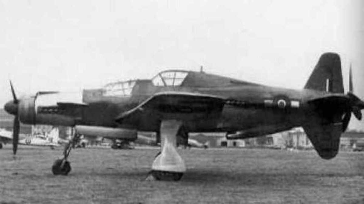 Do 337 Pfeil (arrow) in RAF colours