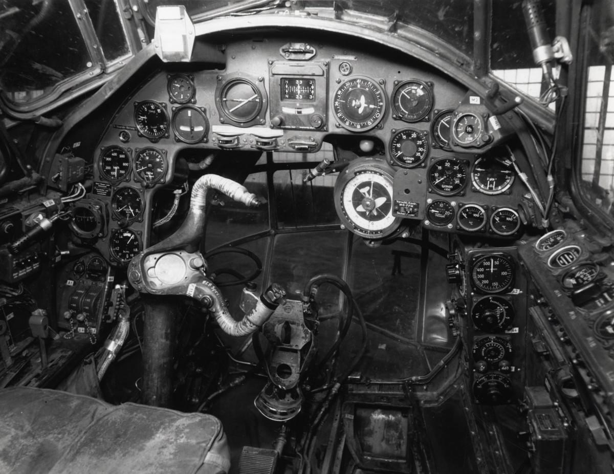 Ju88 cockpit