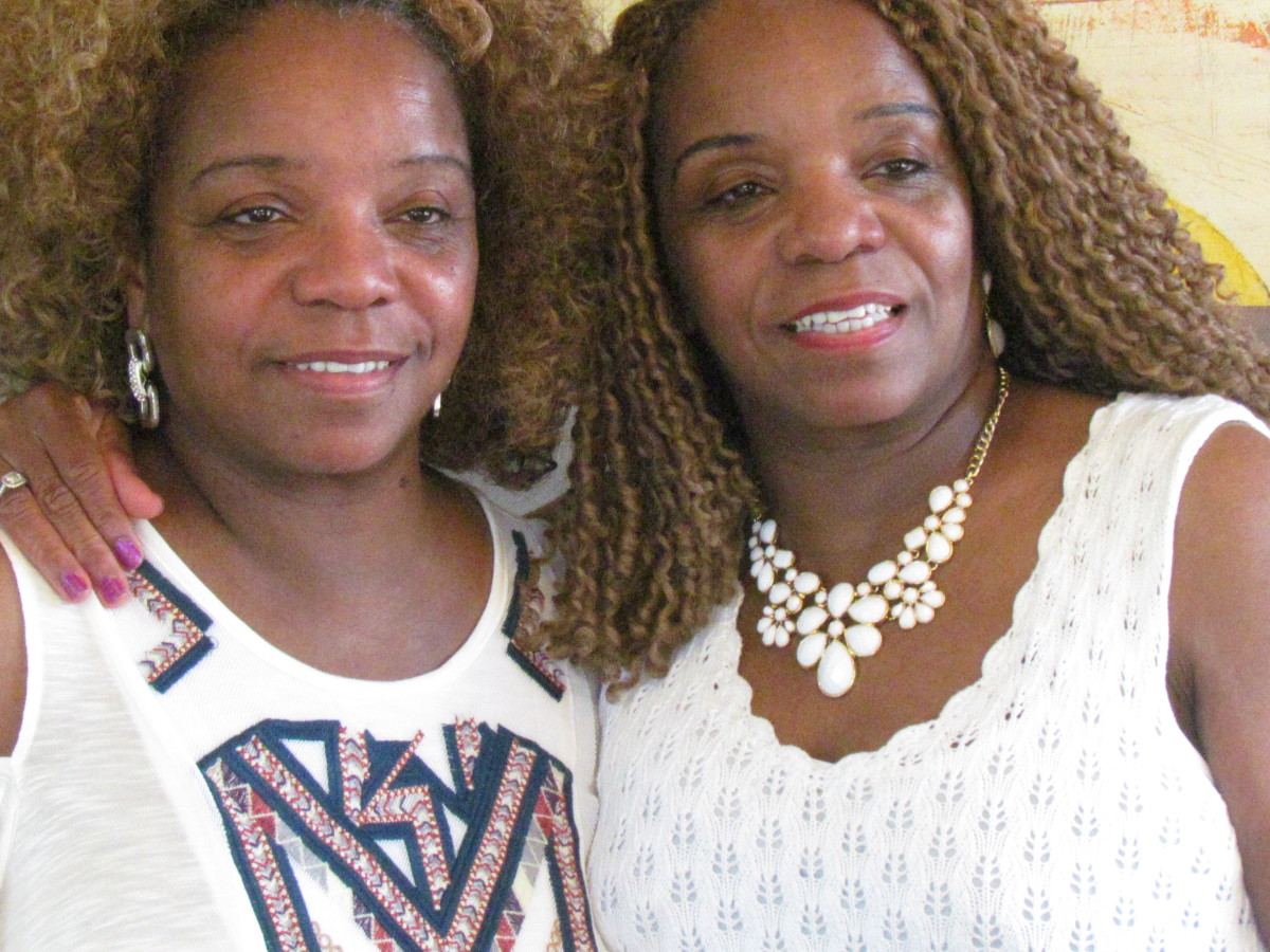 My identical twin sister Paulette, was there for me when I endured a severe concussion. Now she is helping me stay strong as I continue to rely on Jehovah for help for Walker, during his tribulation to fight and defeat cancer.