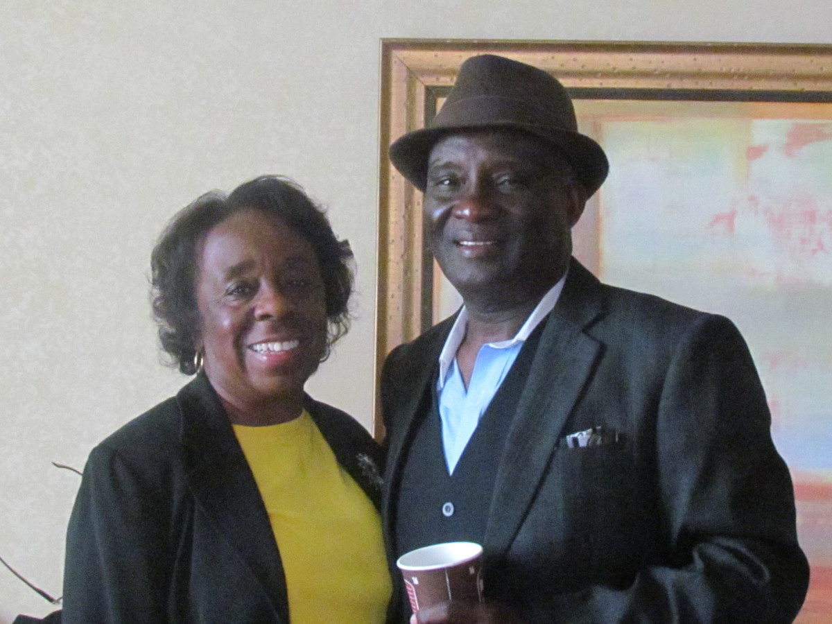My sister Linda and her husband Randolph, continue to be a true source of encouragement and love to the both of us which we truly appreciate. Their enduring love for each other has existed for more than 50 years.