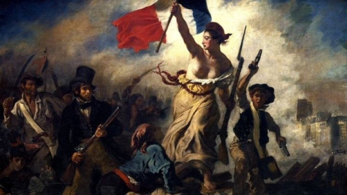 "French Revolution, Eugène Delacroix's 1830 ""Liberty Leading the People"""