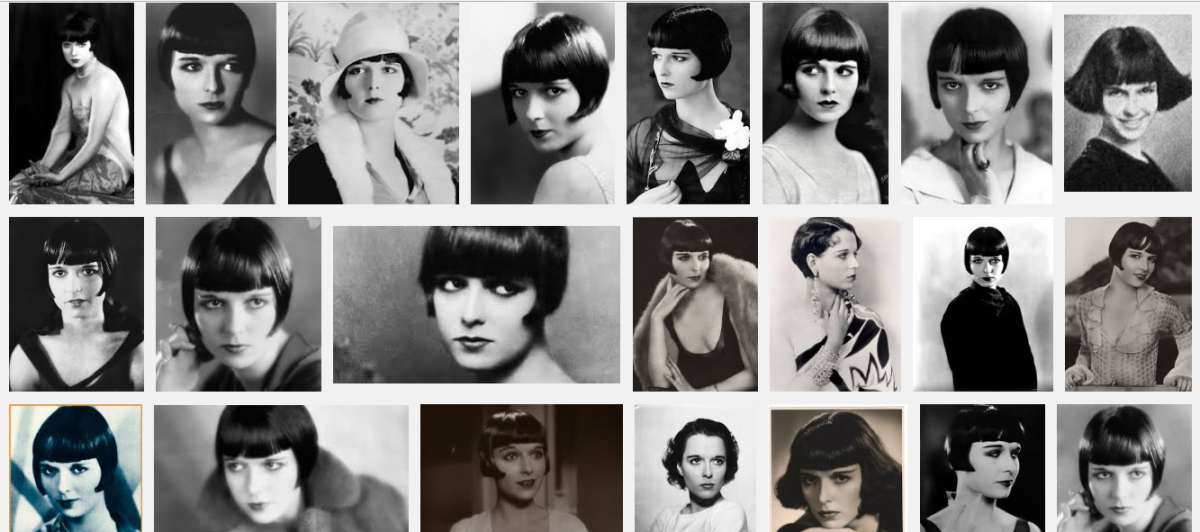 Lulu, as Louise Brooks was known, was photogenic and loved the camera.