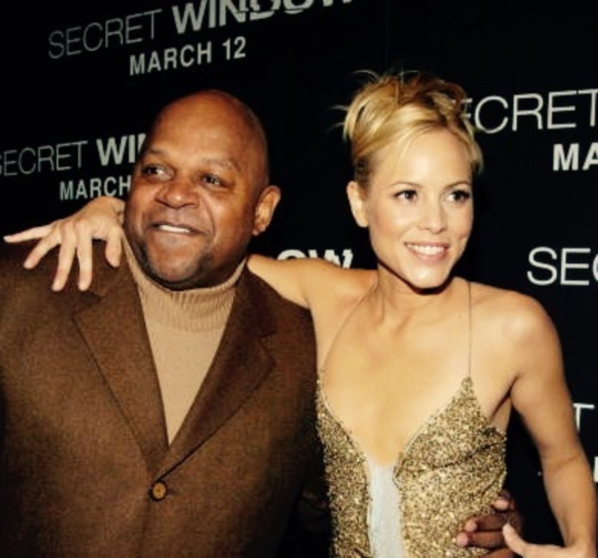 Charles S. Dutton & Maria Bello at the film's premiere