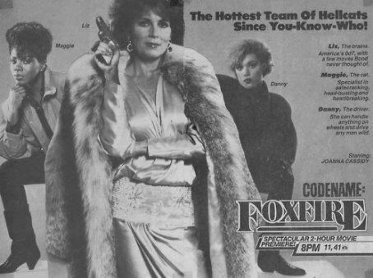 TV Guide advert for Code Name: Foxfire