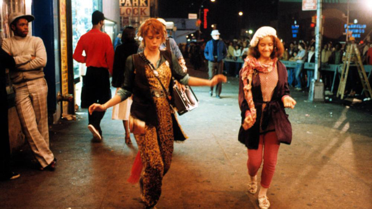 Robin Johnson and Trini Alvarado Times Square