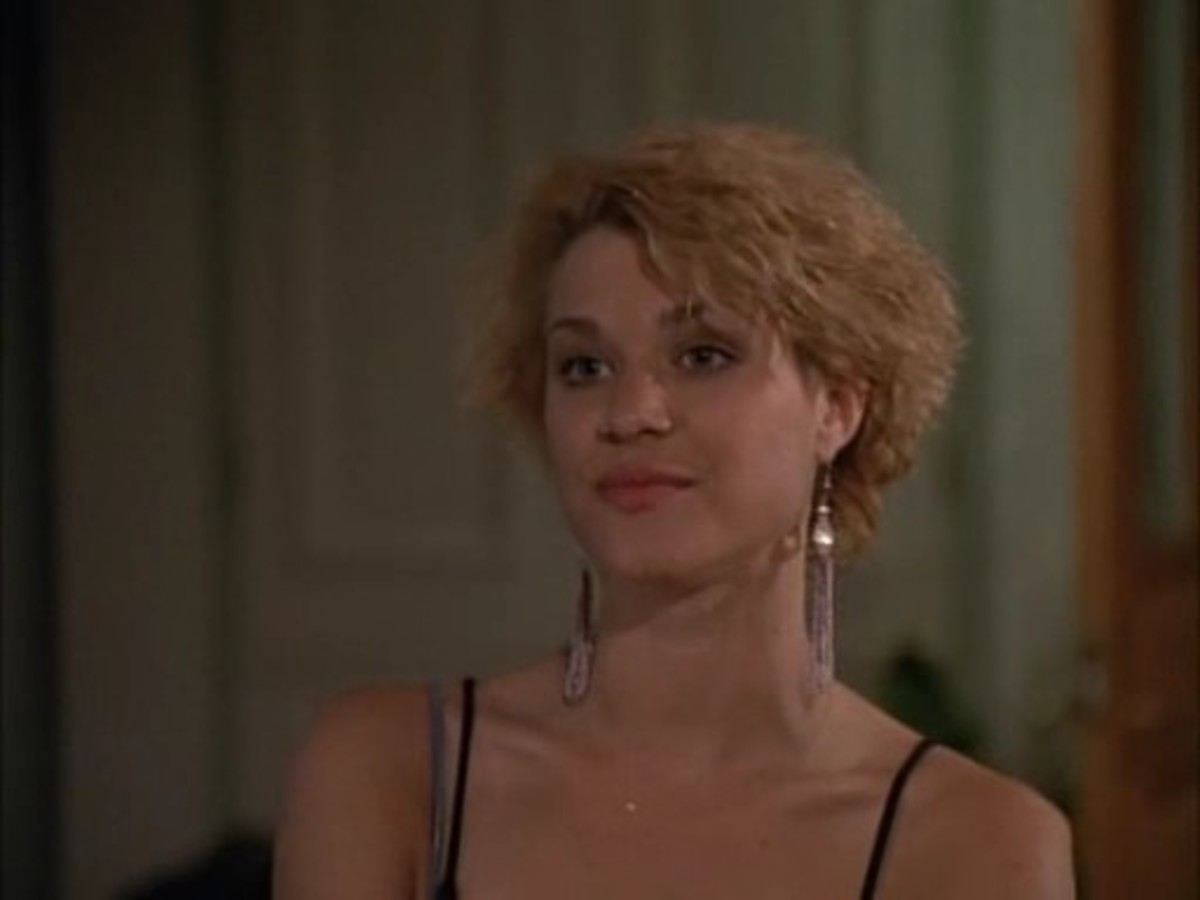 Robin Johnson made her prime time television debut on Miami Vice