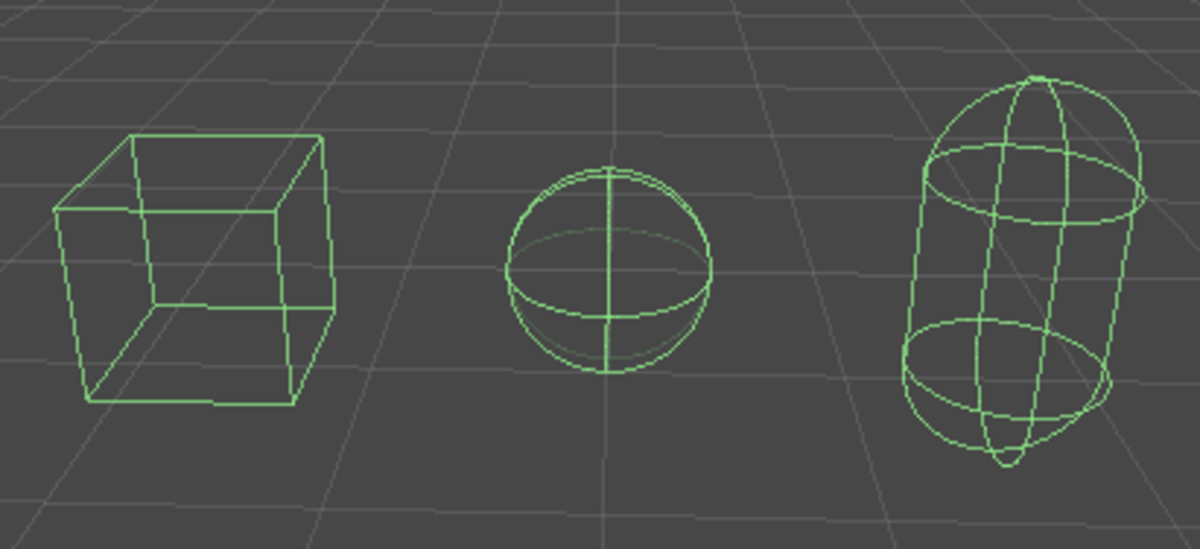 Colliders are invisible meshes for detecting when objects touch in the game world.