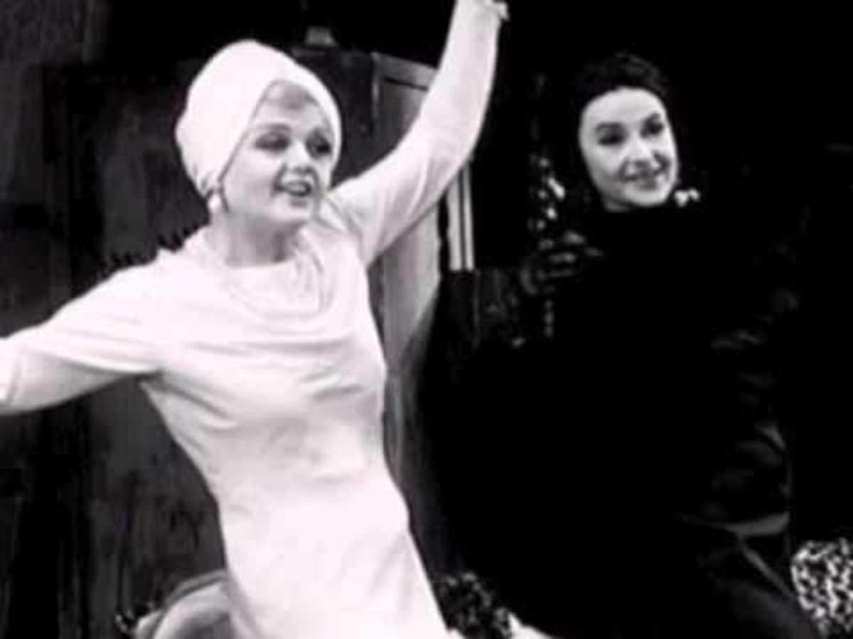 Angela Lansbury and Bea Arthur