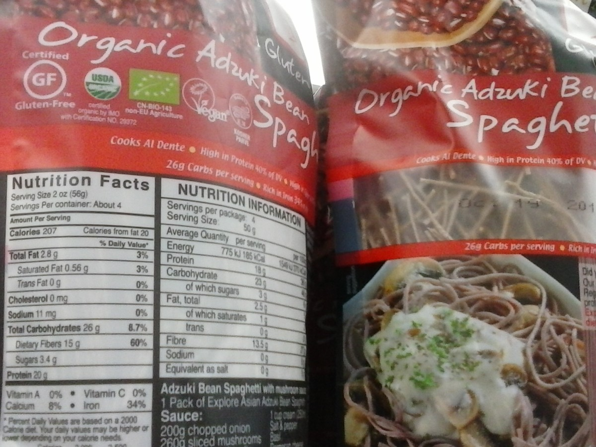 Not all bean pastas are equal, but this red adzuki bean pasta is unbelievably low in carbs.