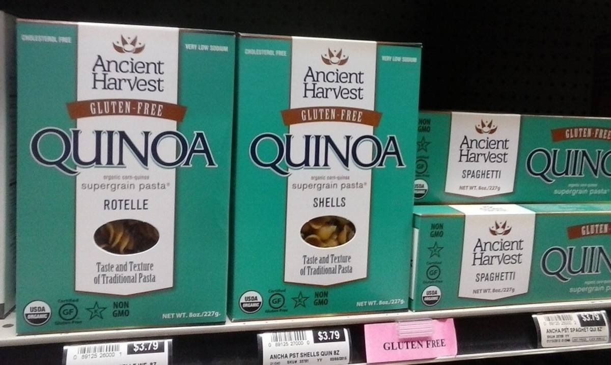 Ancient Harvest uses ancient grains in this quinoa-corn blend.