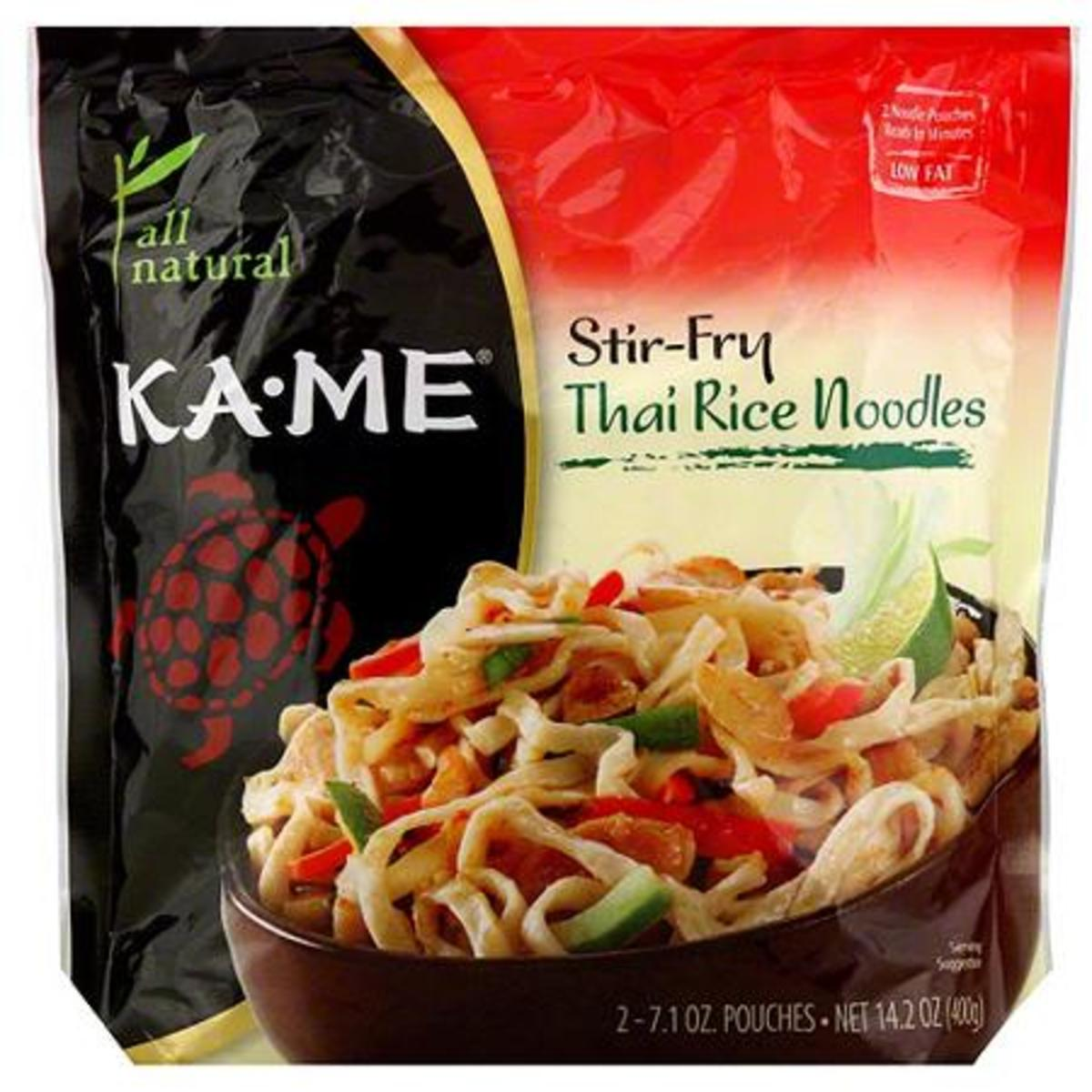 This stir-fry rice noodle is diabetic friendly because it is low on the glycemic index.