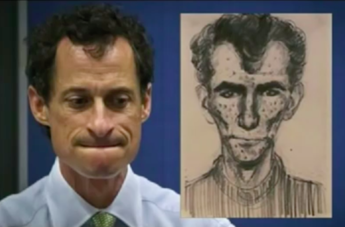 Looks like a police sketch of Anthony Weiner to me ...