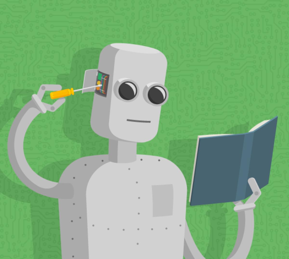 machine tweaking itself : machine learning