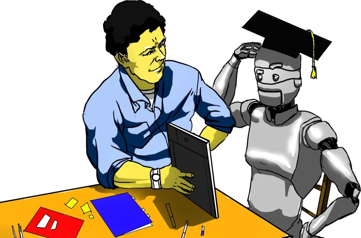 Teacher entity and machine