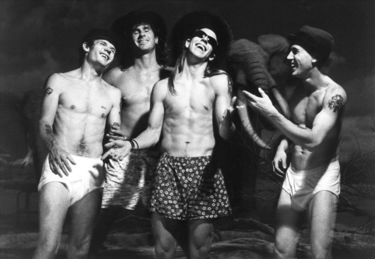 Red Hot Chili Peppers were hot then and still are