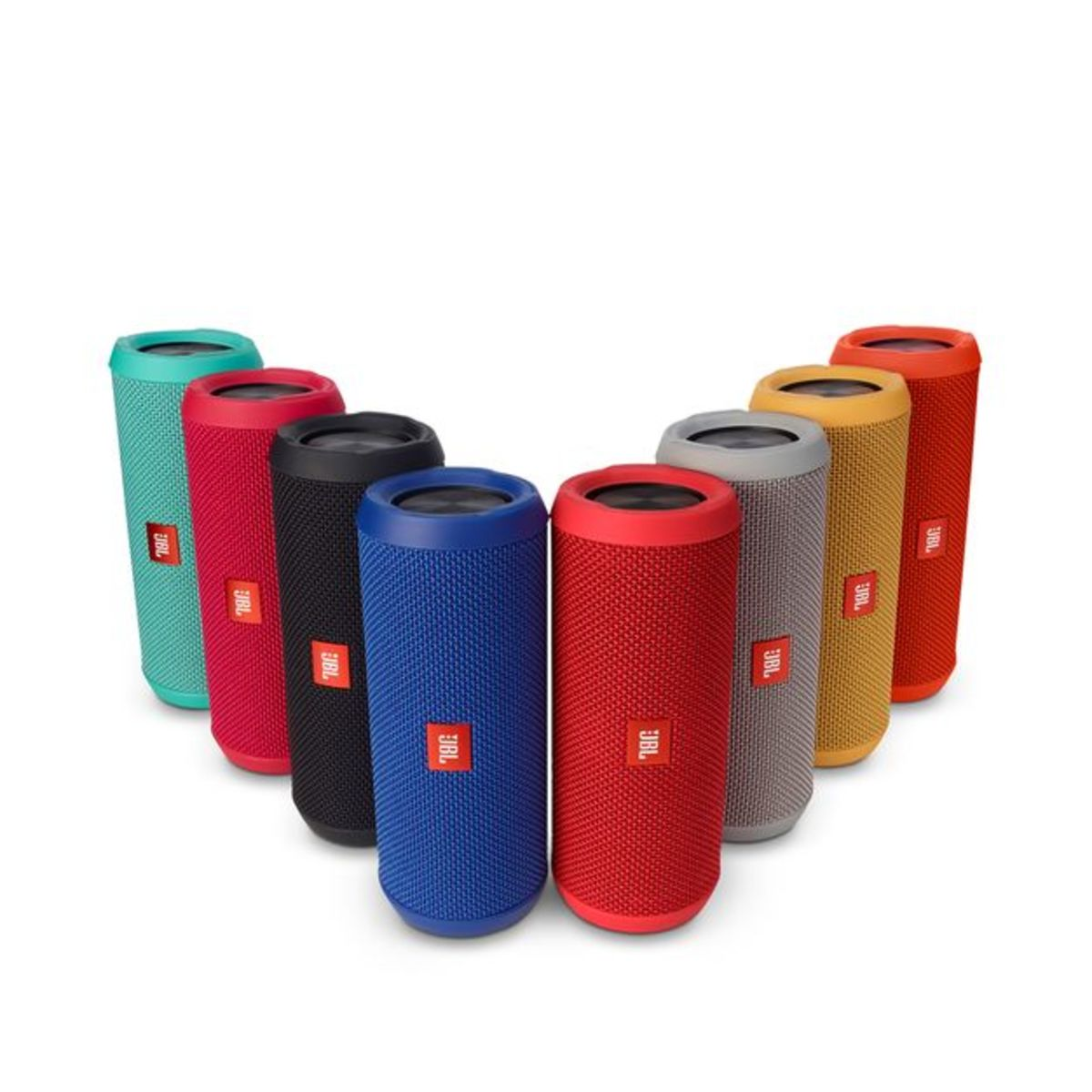 The JBL Flip 3 comes in a variety of colors.