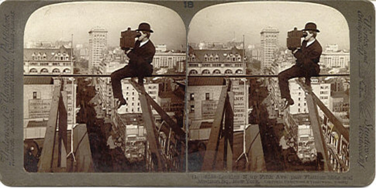 Stereoview cards are historical investments
