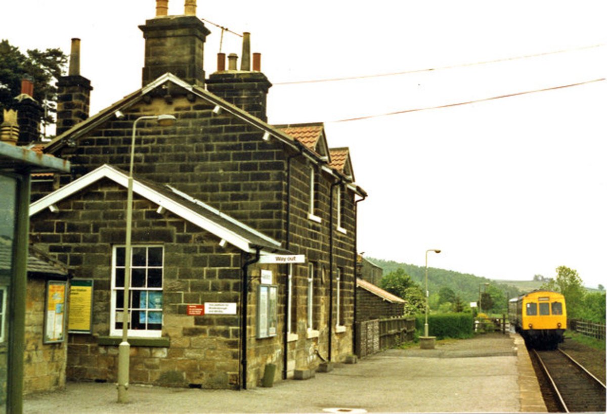 Fast forward about twenty years, the station was renamed 'Castleton Moor' in 1965 - see text above