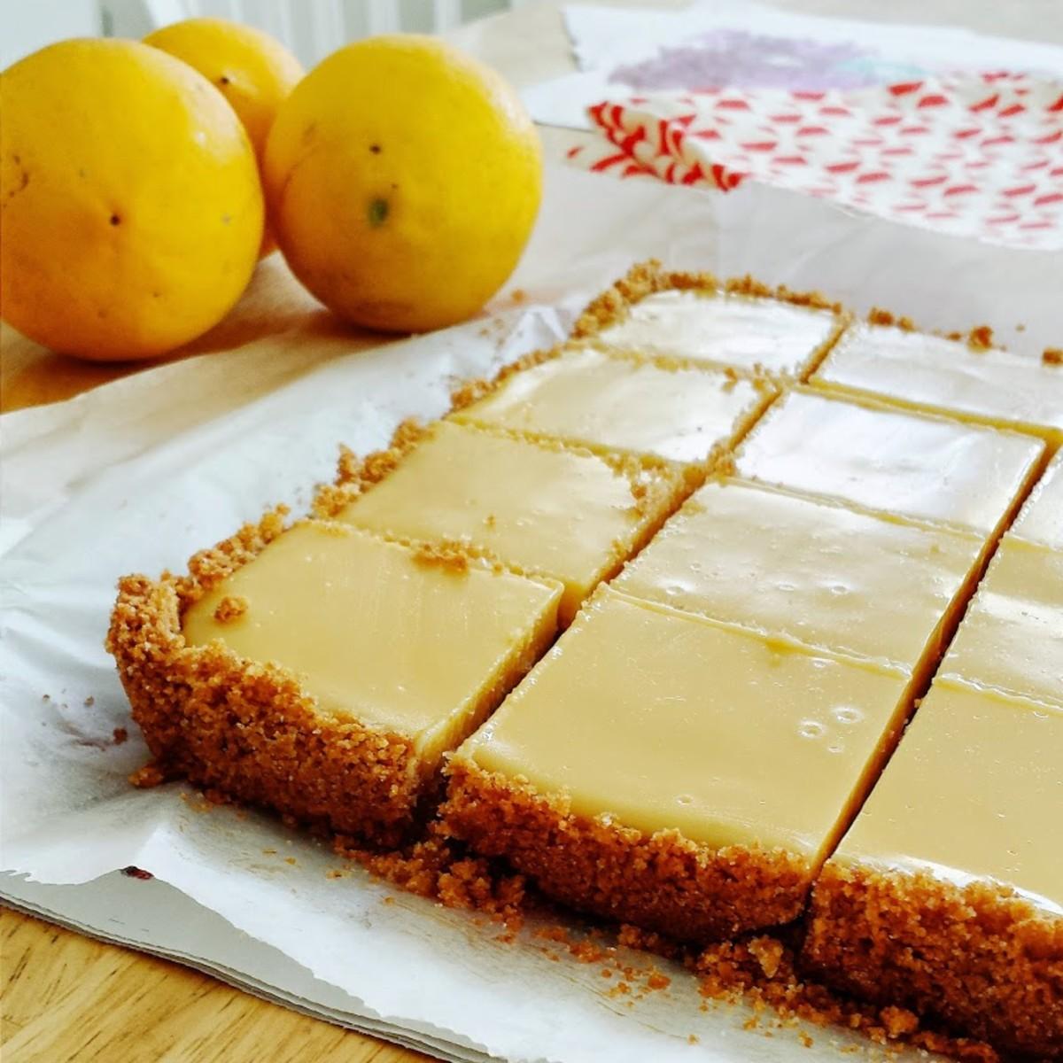 Easy Lime Tart with Pistachio Graham Cracker Crust