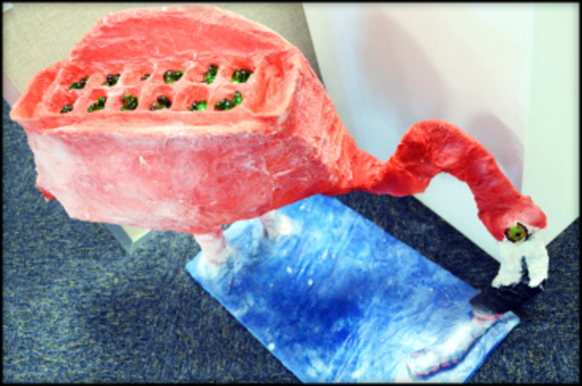 The Flamingo Mancala designed by two of my former students.