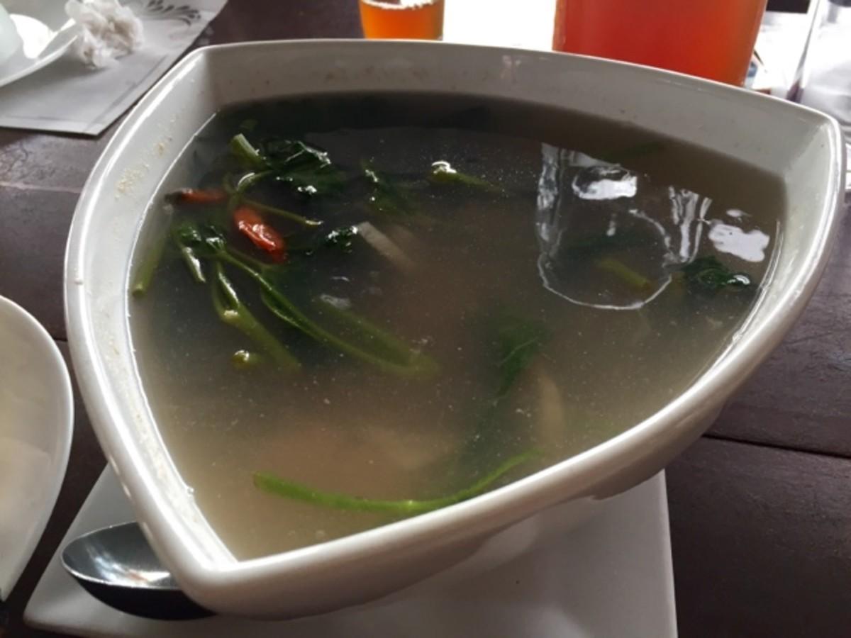 Sinigang na Tangigue by Nanay Sela's Restaurant