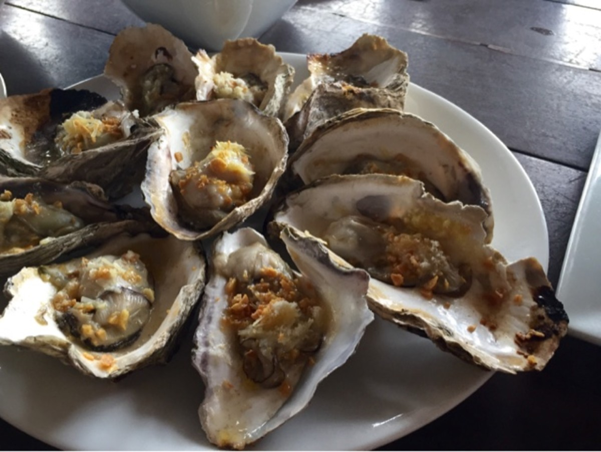 Baked Oyster by Nanay Sela's Restaurant