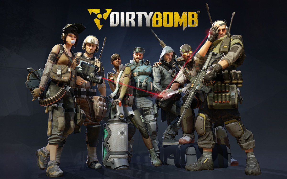 Best Steam Games; Dirty Bomb