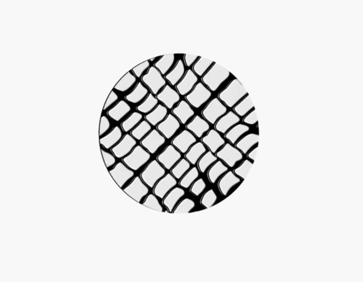 Jin's circle sign: a cage.