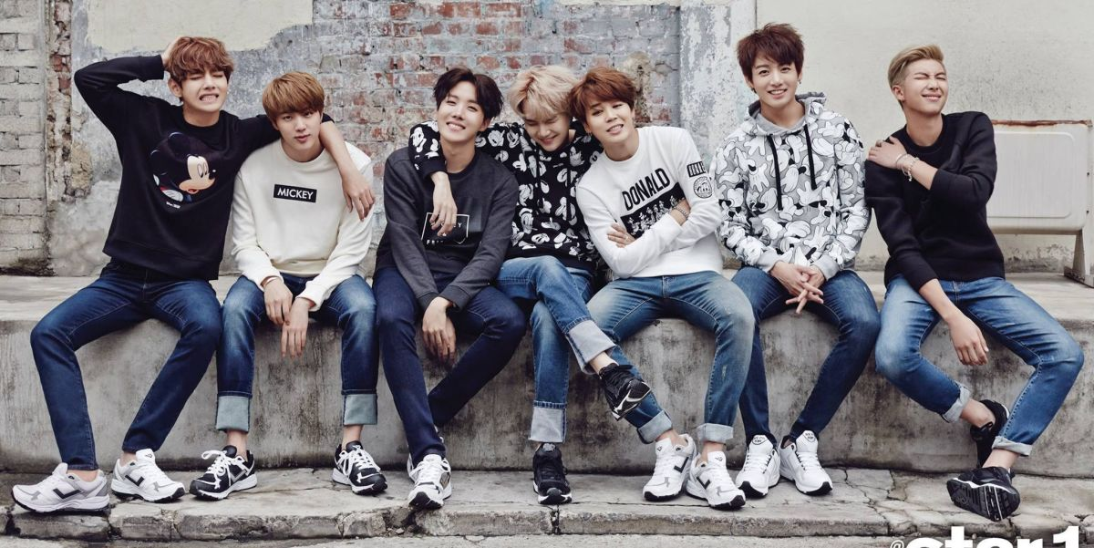 BTS members - V, Jin, J-Hope, Suga, Jimin, Jungkook and Rap Monster.