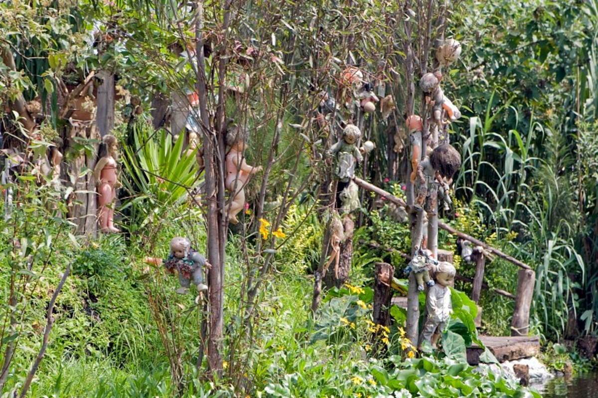 Visit the Island of the Dolls in Mexico: a Strange and Popular Tourist Attraction.
