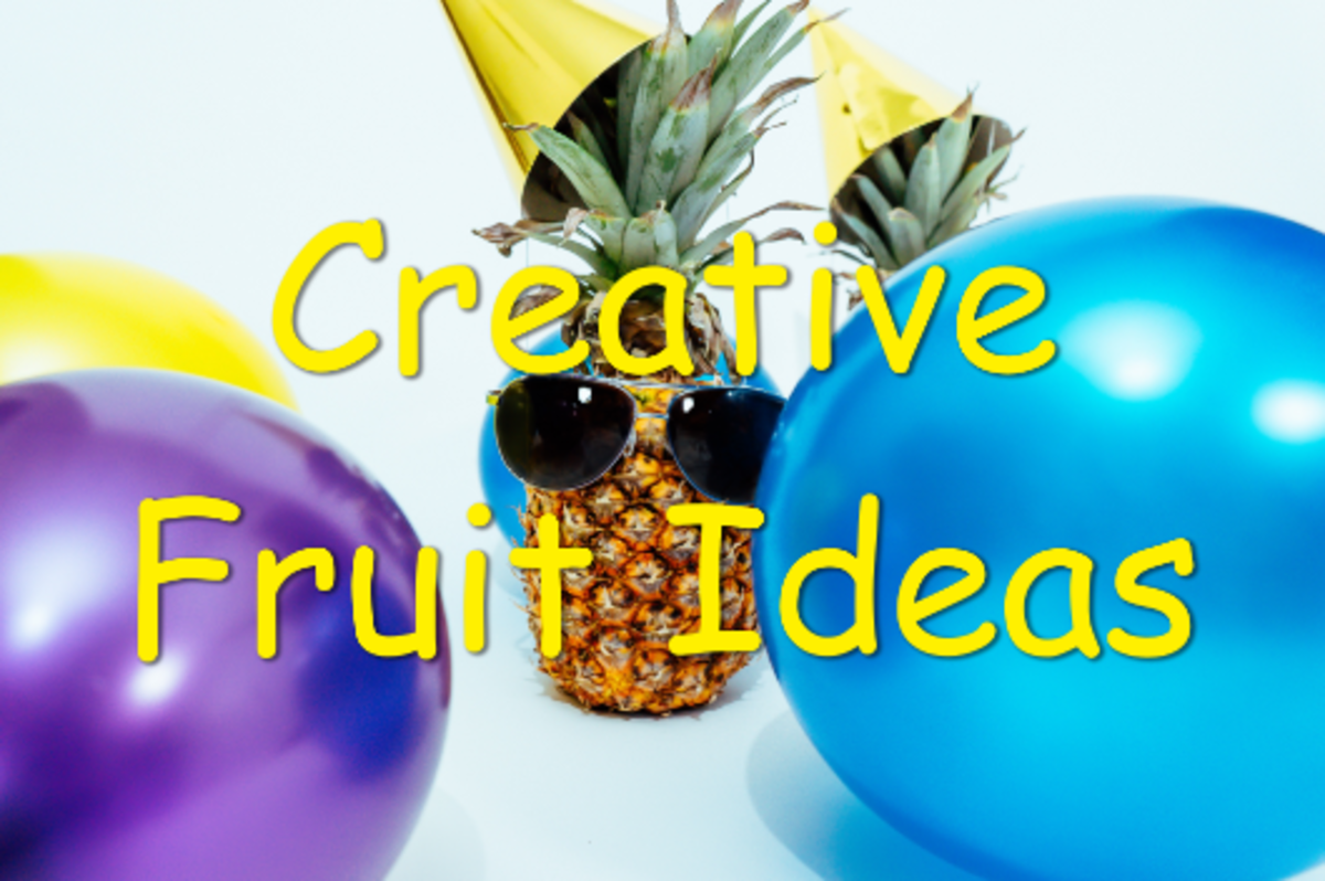 My kids enjoy my creative fruit ideas and then ask for more.