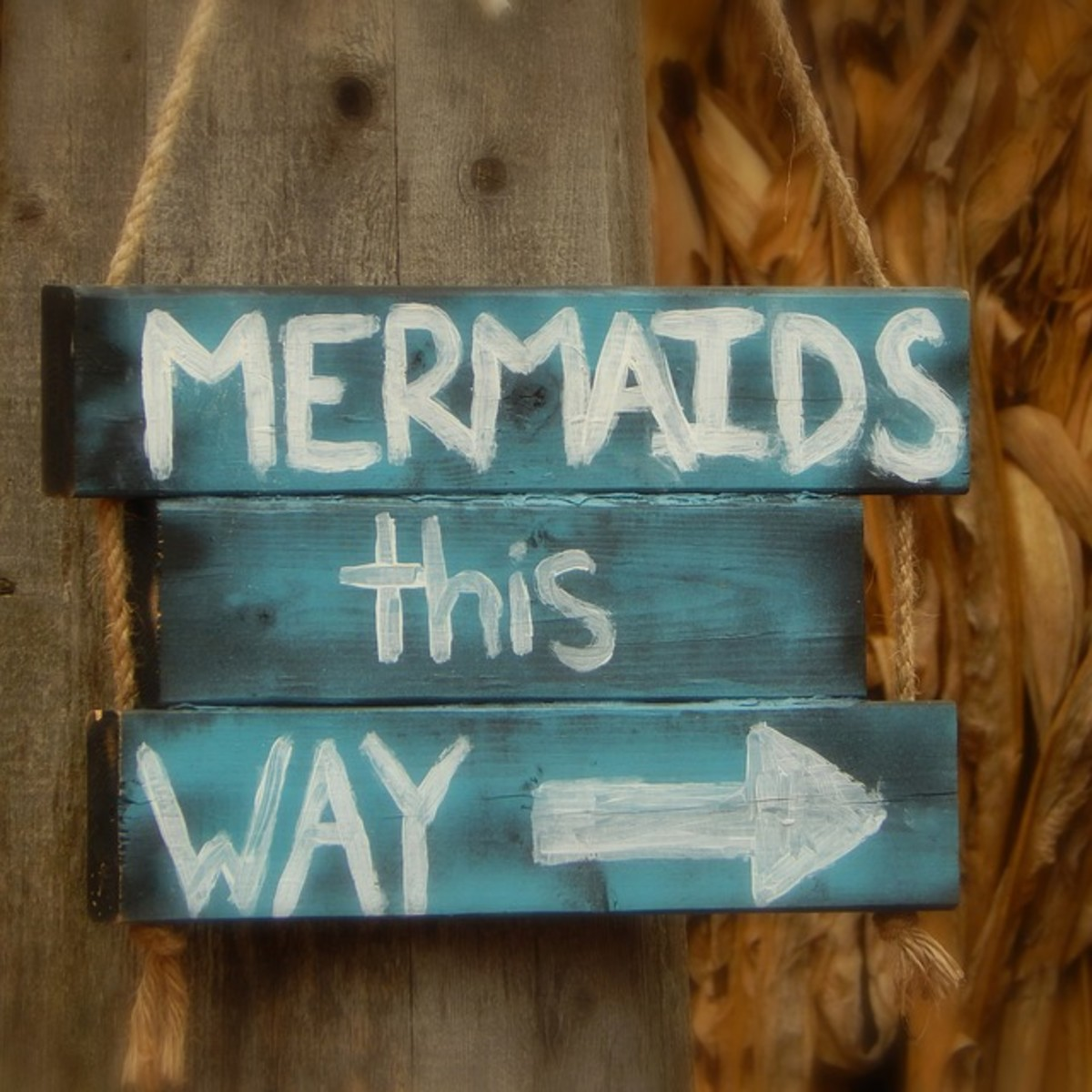 DIY Mermaid Room Decor