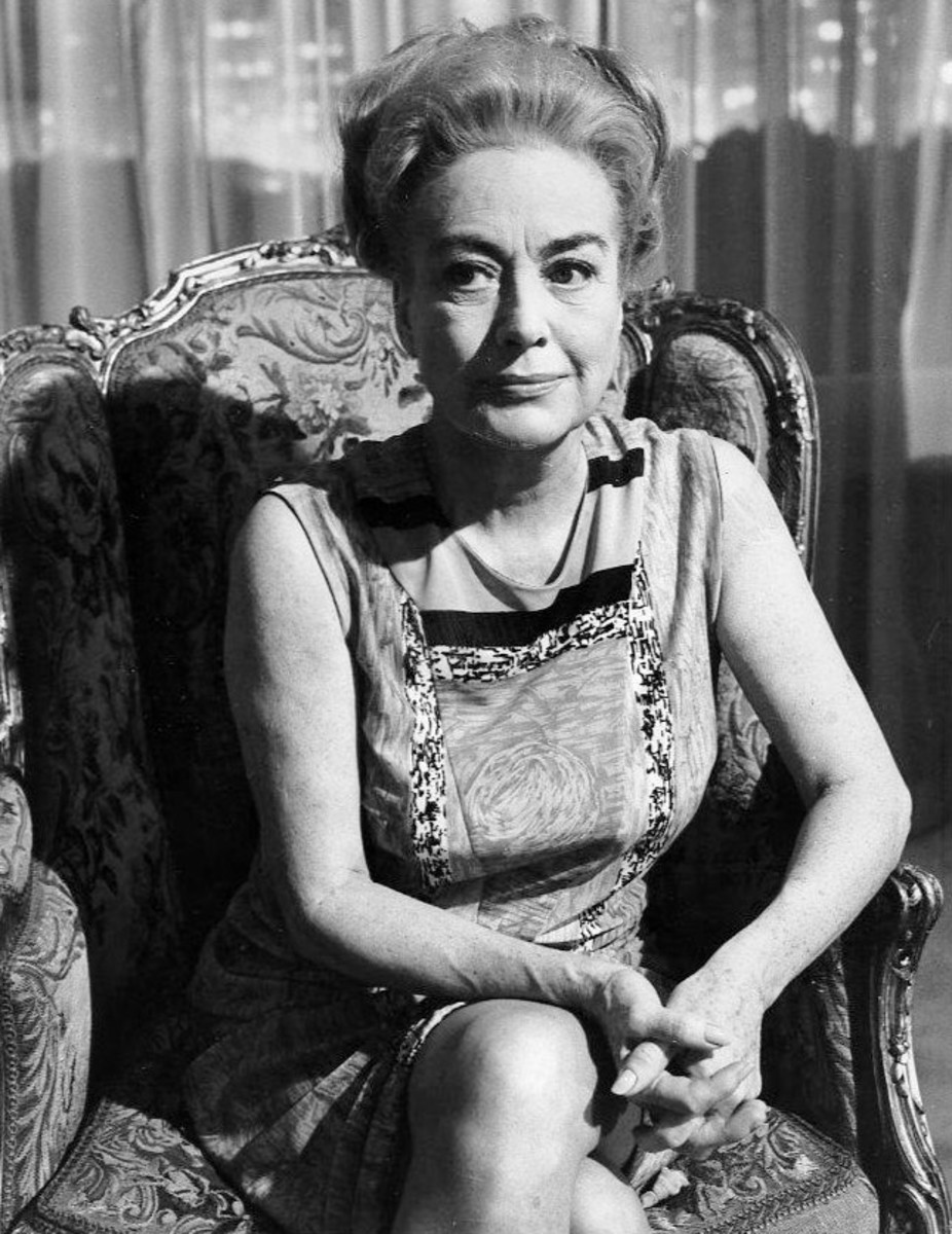 "Joan Crawford in the segment ""Eyes""."