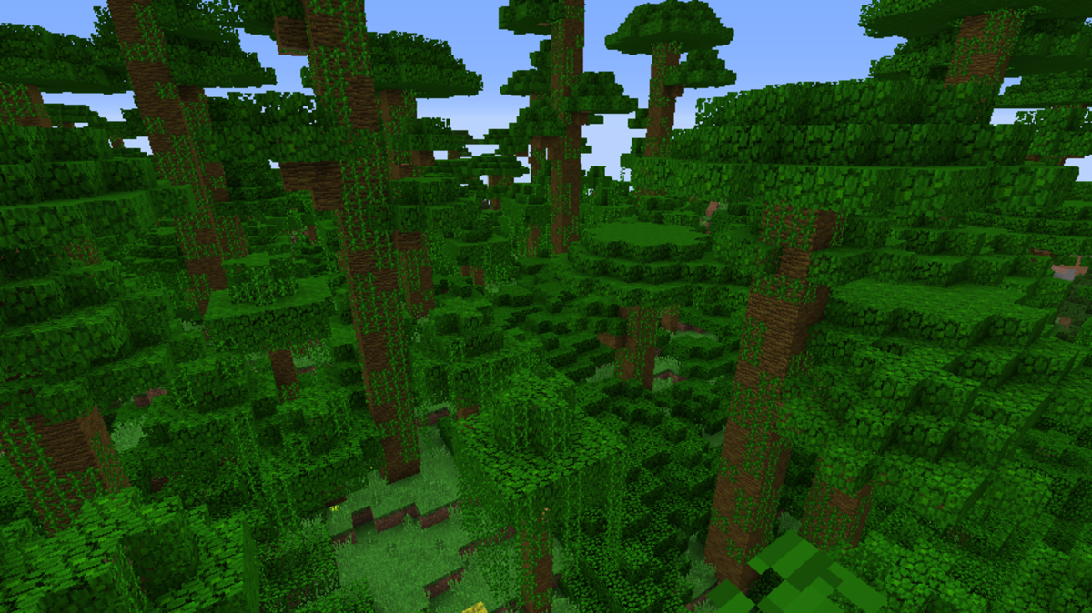 Minecraft Jungle Seeds 1.12